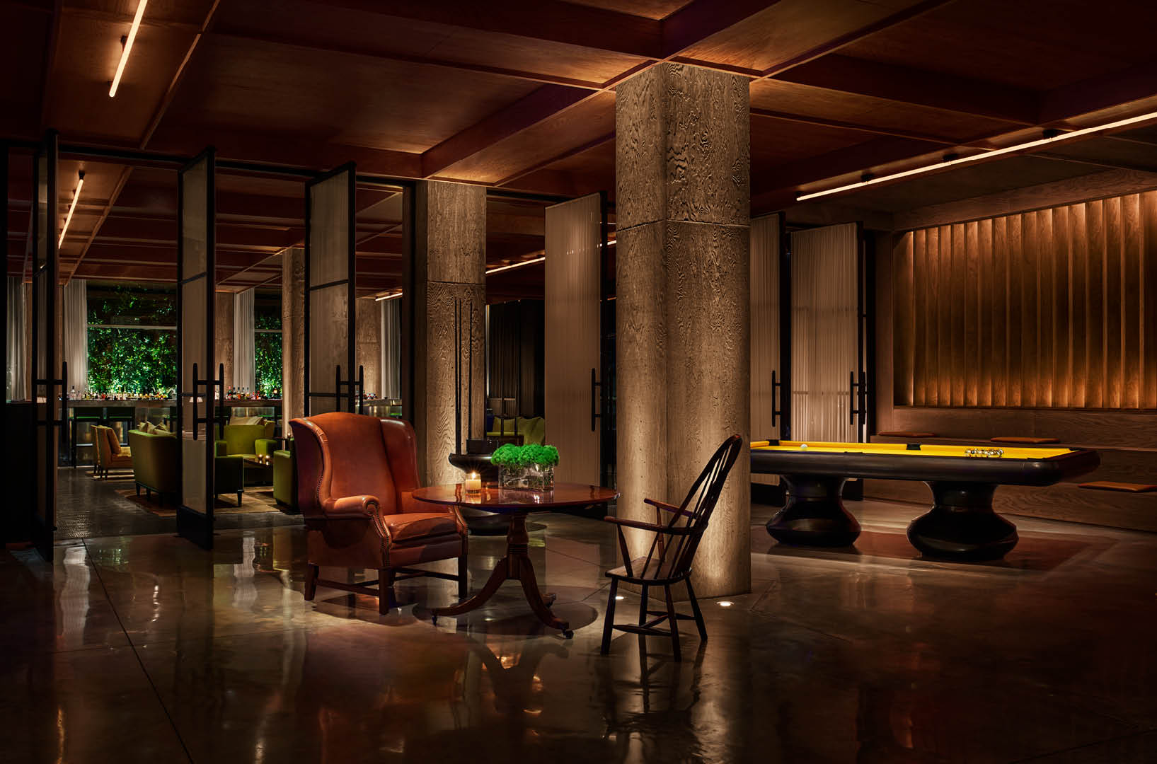 Public Hotel New York City An Ian Schrager Hotel Restaurants And