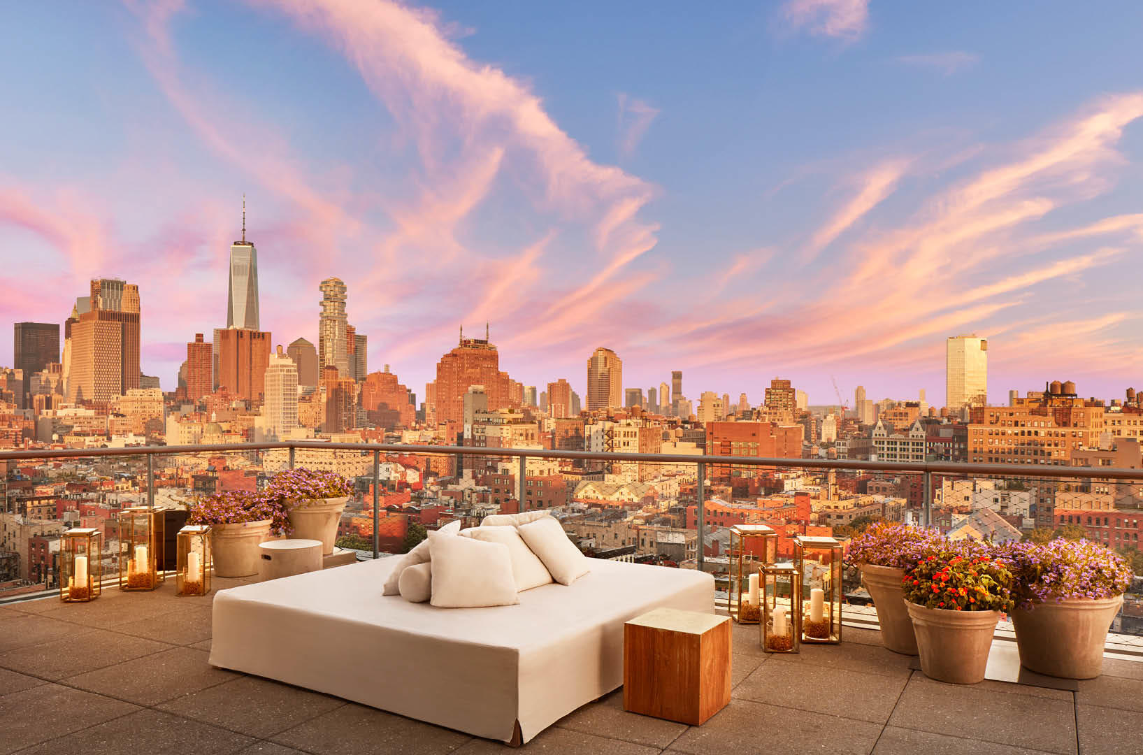 Public Hotel New York City An Ian Schrager Hotel The Roof